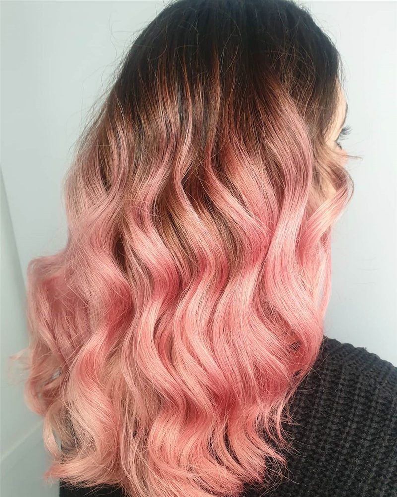 Cute Pink Hair Ideas That You'll Want To Get-04