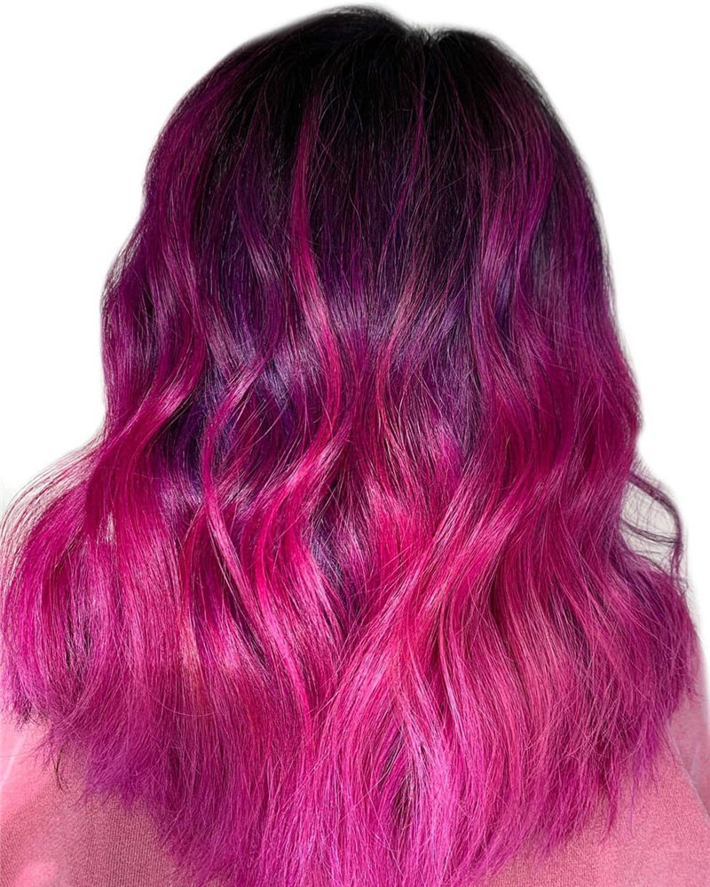 Cute Pink Hair Ideas That You'll Want To Get-07