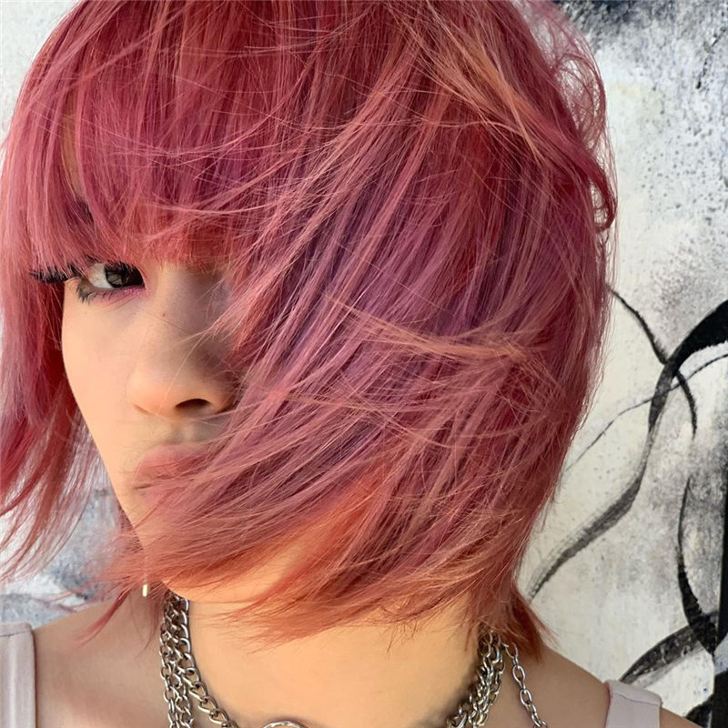 Cute Pink Hair Ideas That You'll Want To Get-09