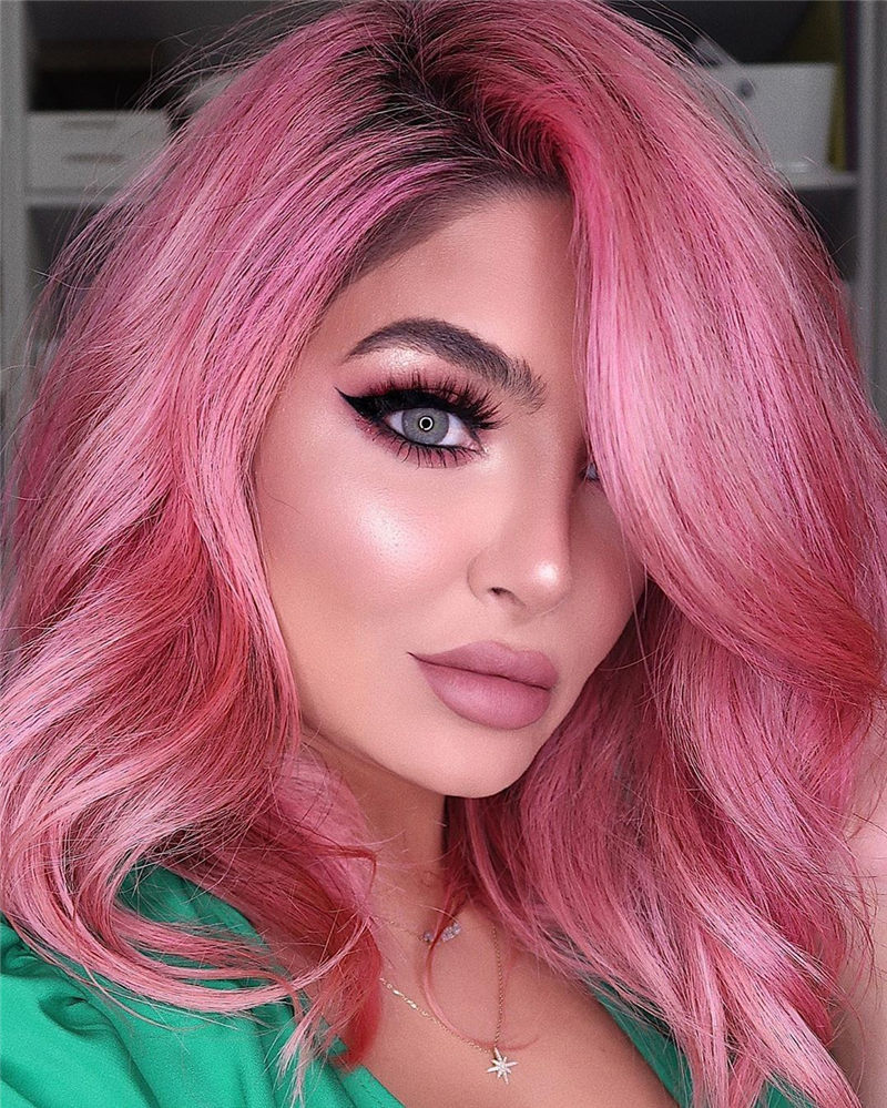 Cute Pink Hair Ideas That You'll Want To Get-10