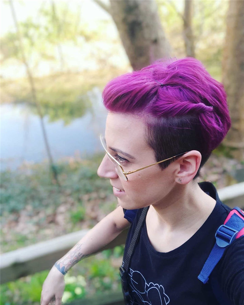 Cute Pink Hair Ideas That You'll Want To Get-13
