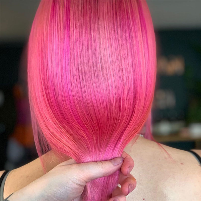 Cute Pink Hair Ideas That You'll Want To Get-14