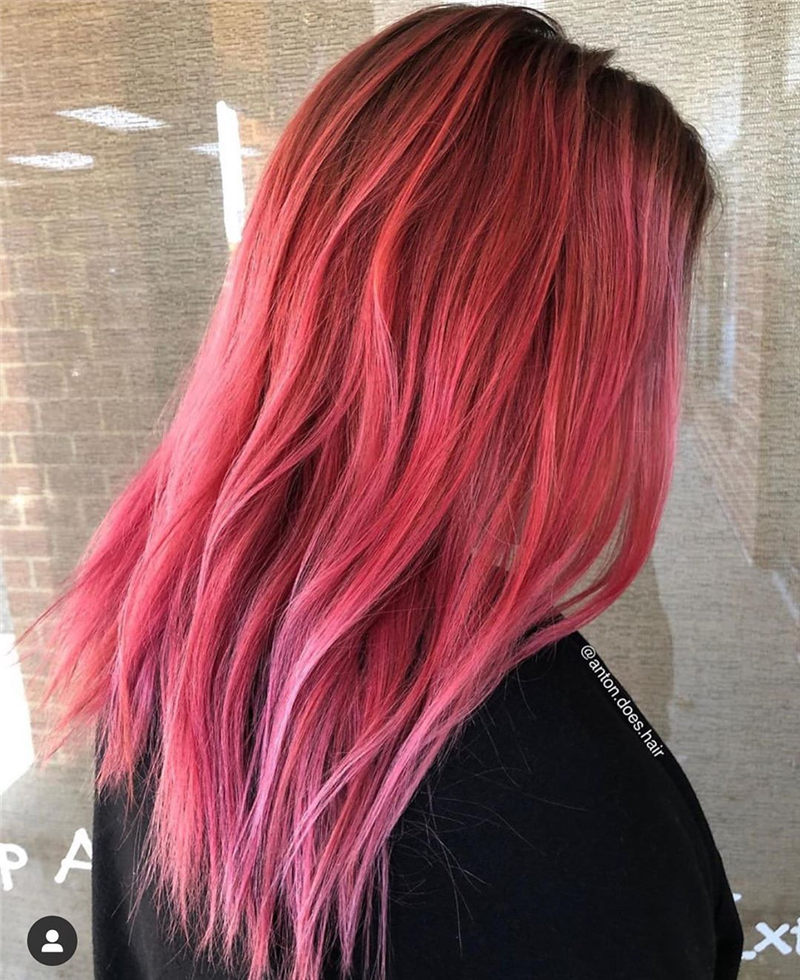 Cute Pink Hair Ideas That You'll Want To Get-25