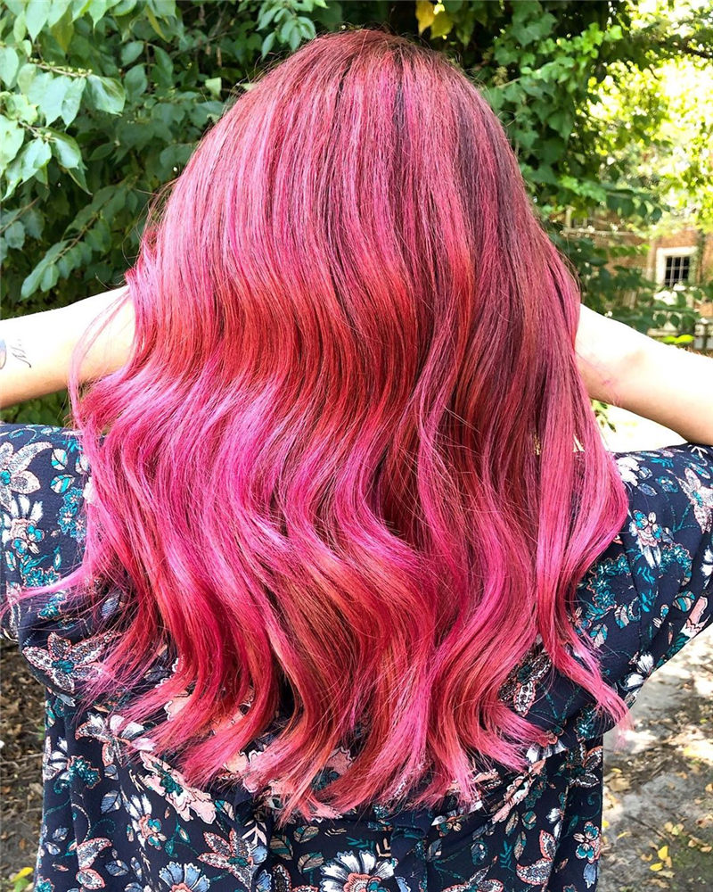 Cute Pink Hair Ideas That You'll Want To Get-26