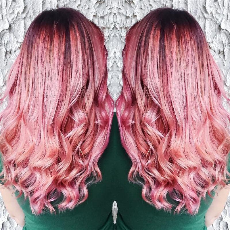 Cute Pink Hair Ideas That You'll Want To Get-28