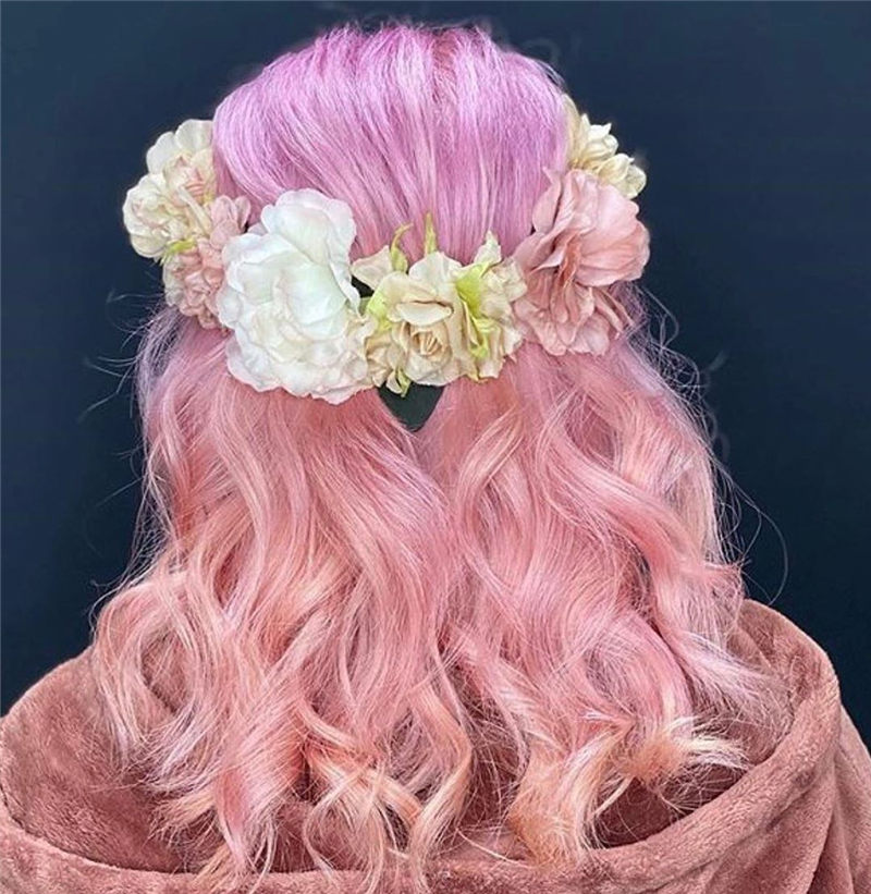 Cute Pink Hair Ideas That You'll Want To Get-30