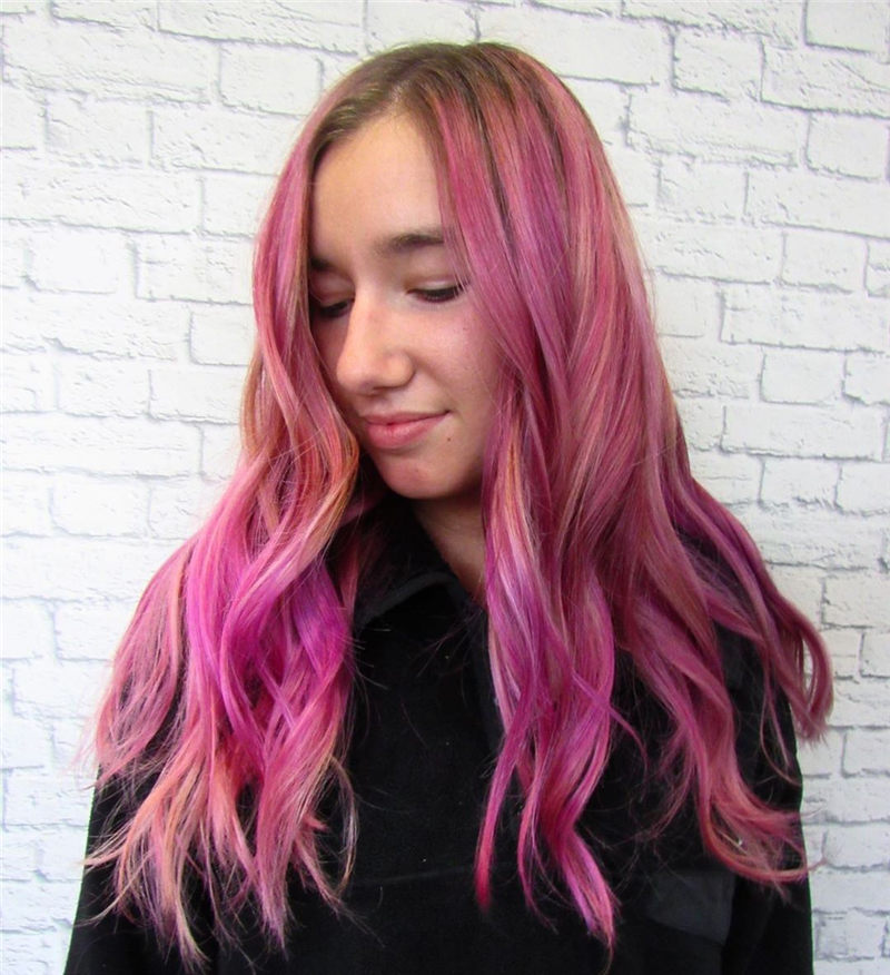 Cute Pink Hair Ideas That You'll Want To Get-33