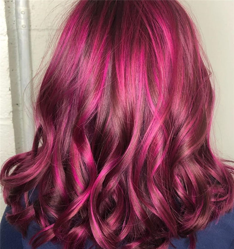 Cute Pink Hair Ideas That You'll Want To Get-34