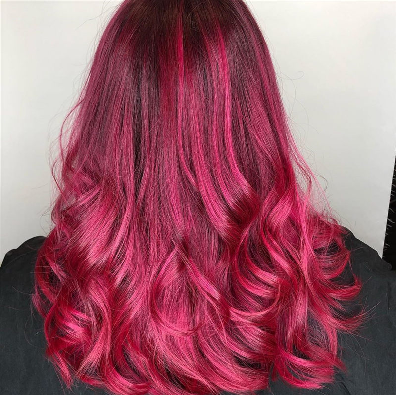 Cute Pink Hair Ideas That You'll Want To Get-35