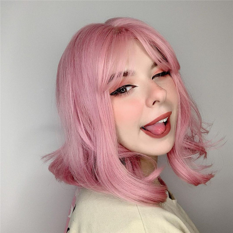 Cute Pink Hair Ideas That You'll Want To Get-36