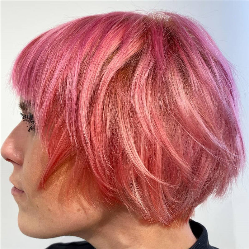 Cute Pink Hair Ideas That You'll Want To Get-39