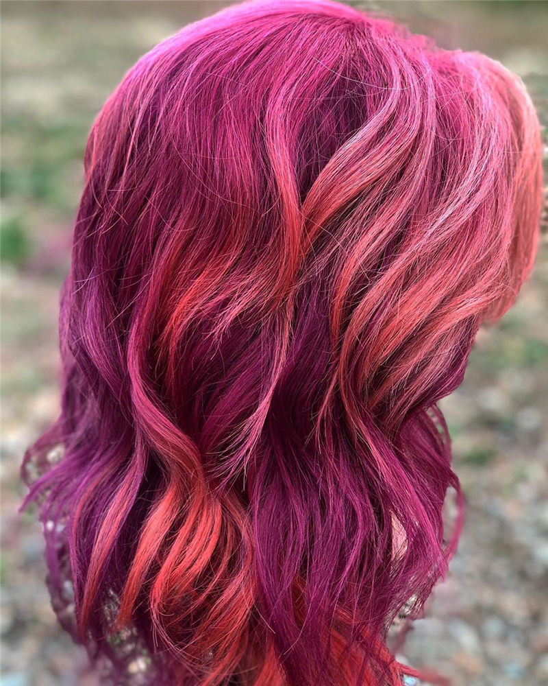 Cute Pink Hair Ideas That You'll Want To Get-40