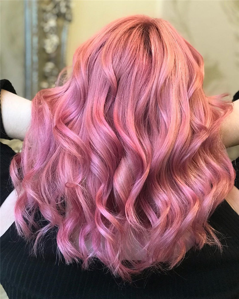 Cute Pink Hair Ideas That You'll Want To Get-43