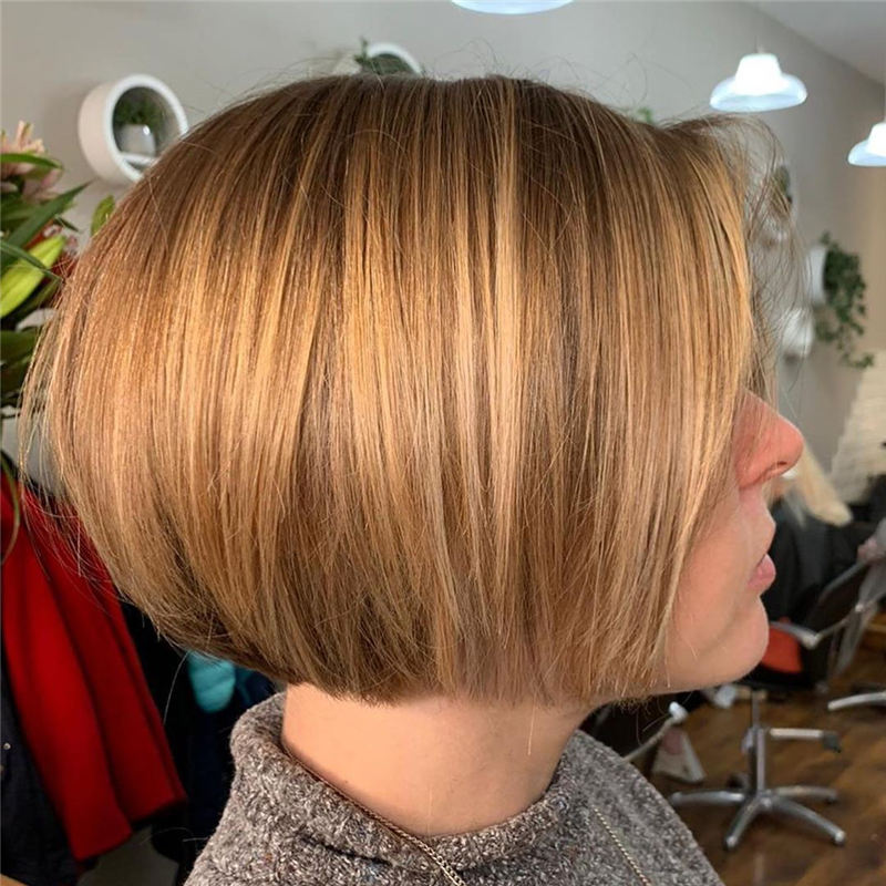 Cute Short Bob Hairstyles You Can Copy This Year-14