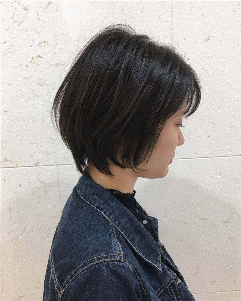 Cute Short Bob Hairstyles You Can Copy This Year-21