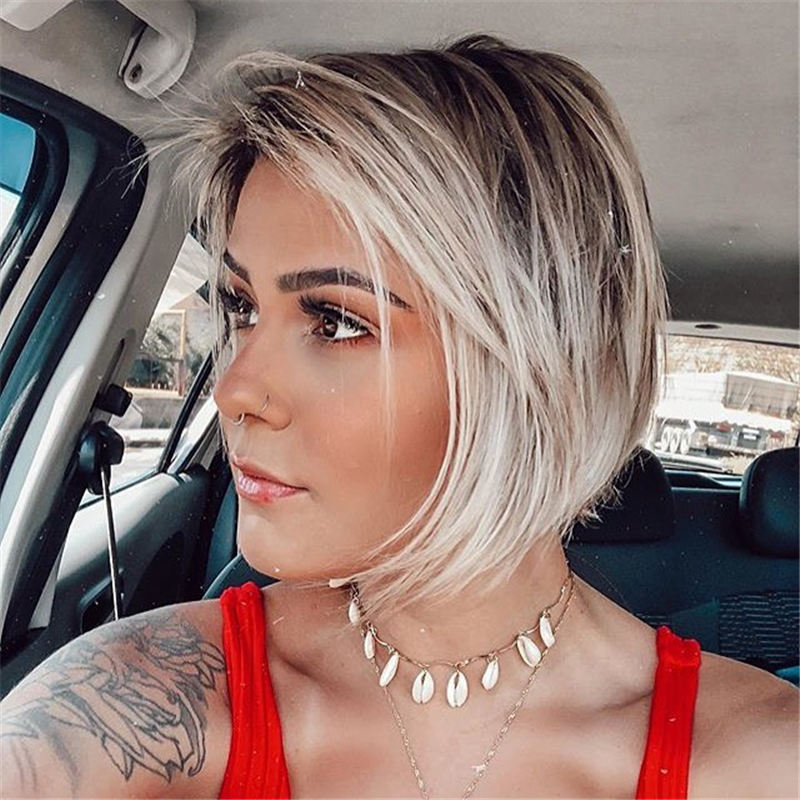 Cute Short Bob Hairstyles You Can Copy This Year-27