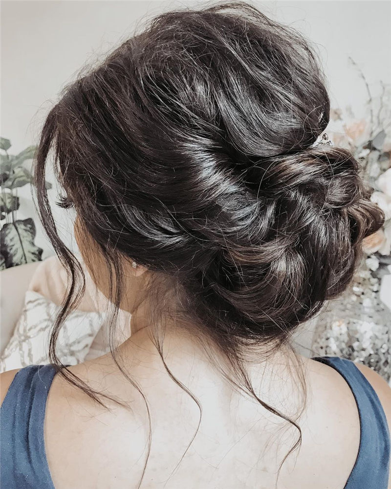 Fantastic Wedding Hairstyles to Inspire Your Prom Look-10