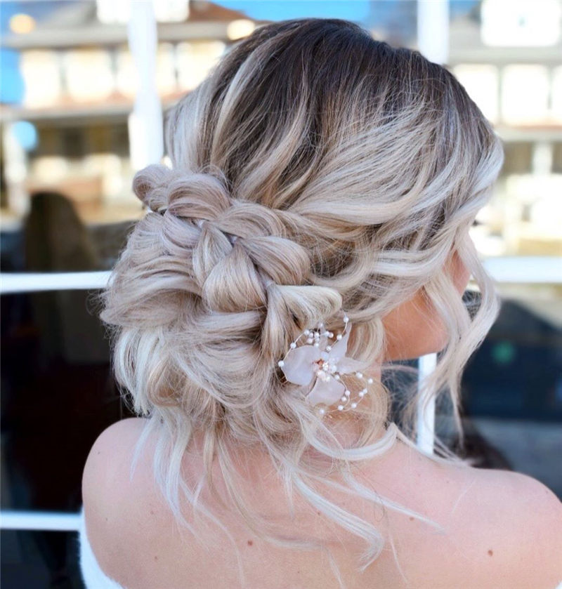 Fantastic Wedding Hairstyles to Inspire Your Prom Look-18