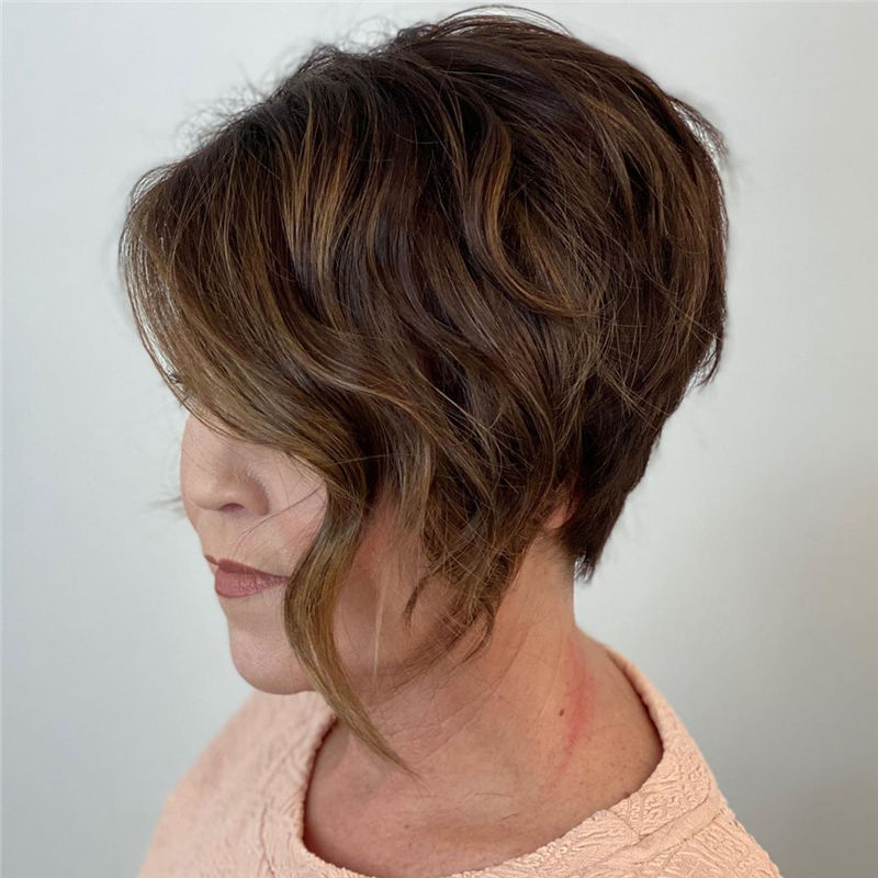 Latest & Hottest Short Hair Ideas for Girls-05