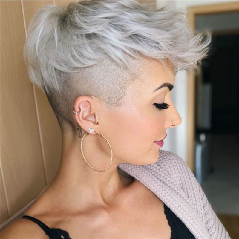Latest & Hottest Short Hair Ideas for Girls-25