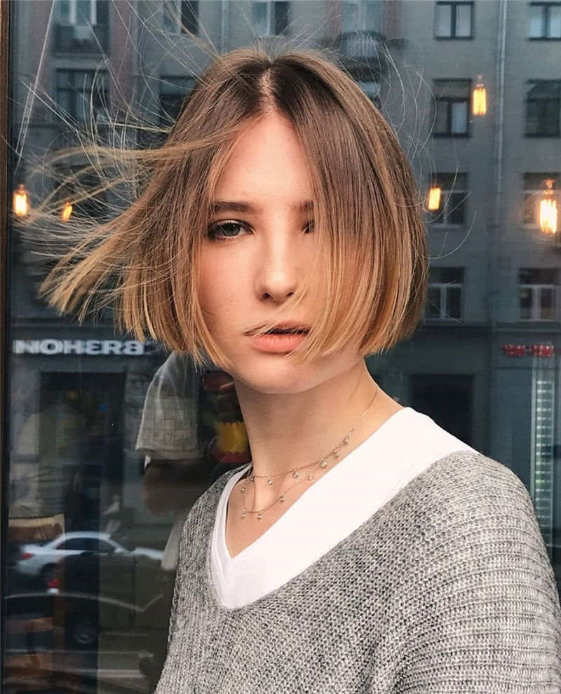 Latest & Hottest Short Hair Ideas for Girls-31