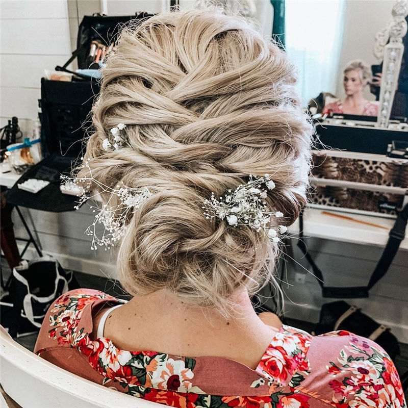 Popular Updo Braided Hairstyles to Look Stylish-01