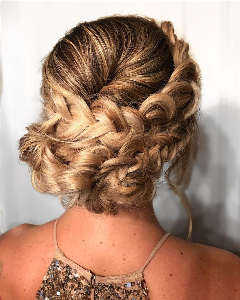 Popular Updo Braided Hairstyles to Look Stylish-02