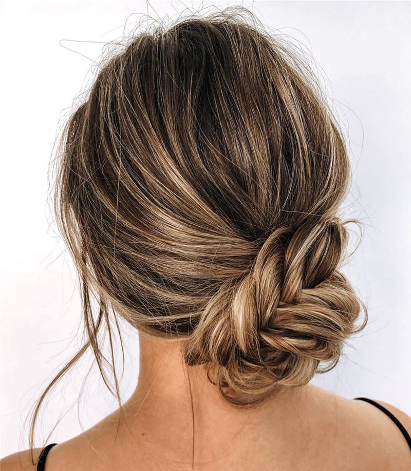 Popular Updo Braided Hairstyles to Look Stylish-04