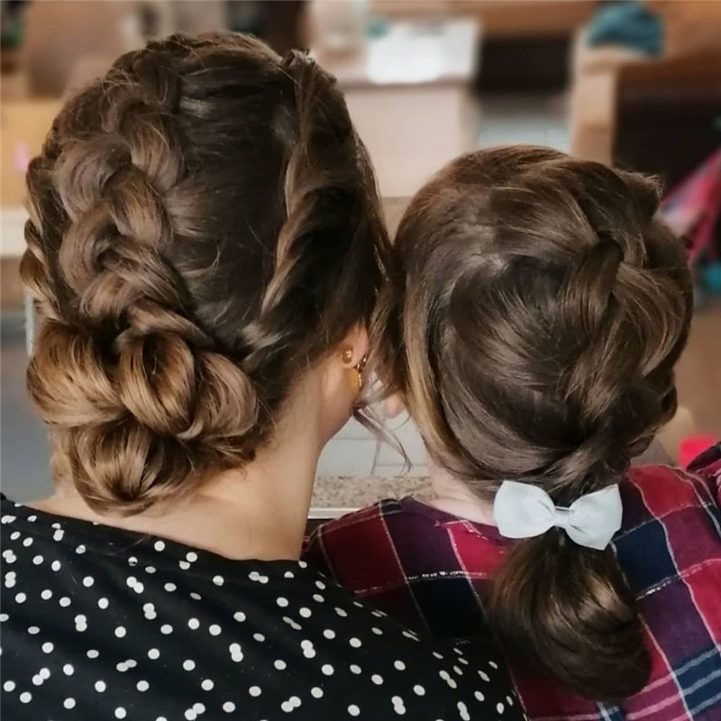 Popular Updo Braided Hairstyles to Look Stylish-06