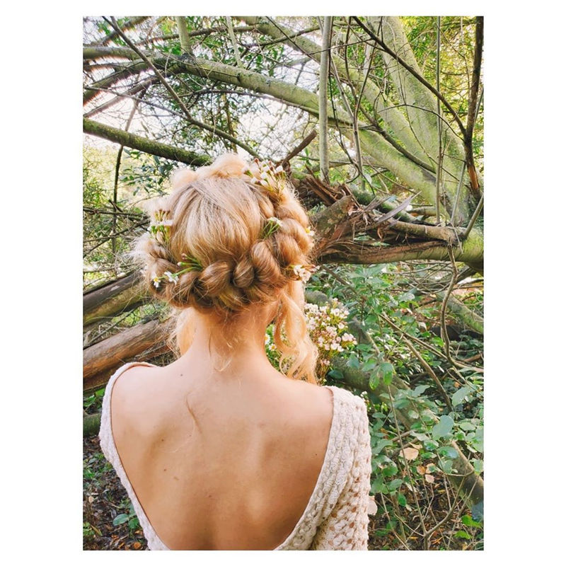 Popular Updo Braided Hairstyles to Look Stylish-09