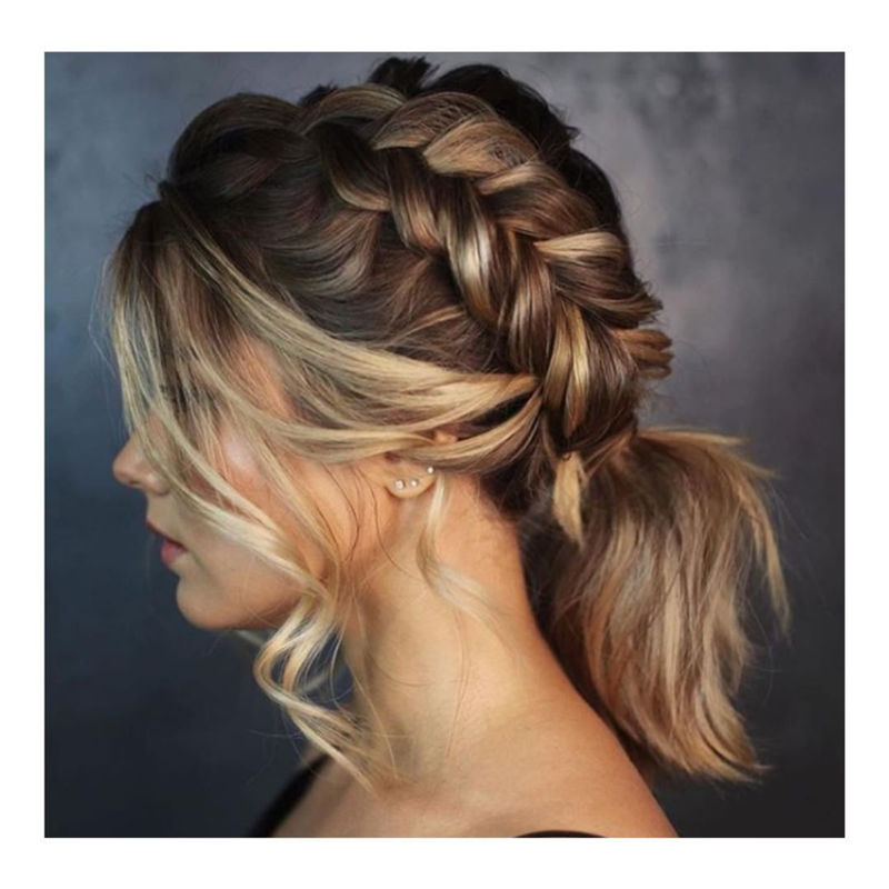 Popular Updo Braided Hairstyles to Look Stylish-10