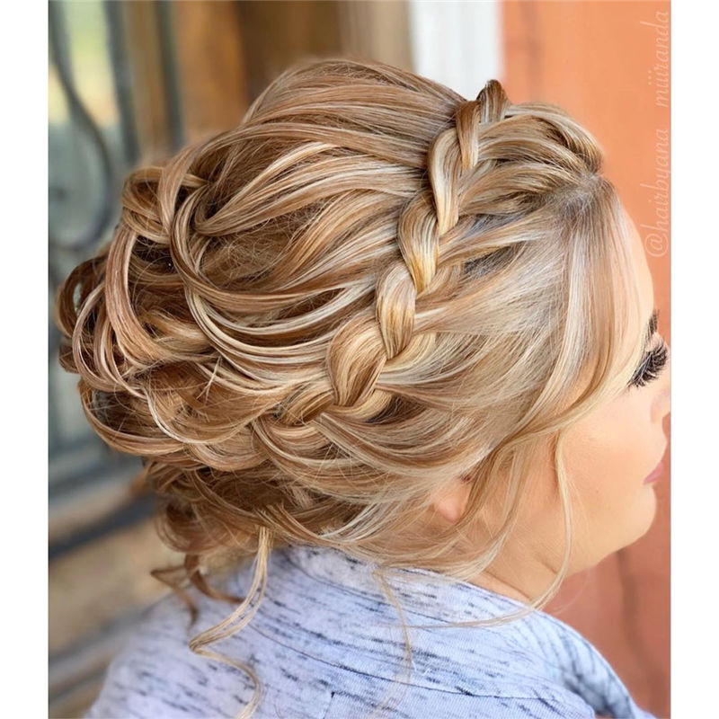 Popular Updo Braided Hairstyles to Look Stylish-13