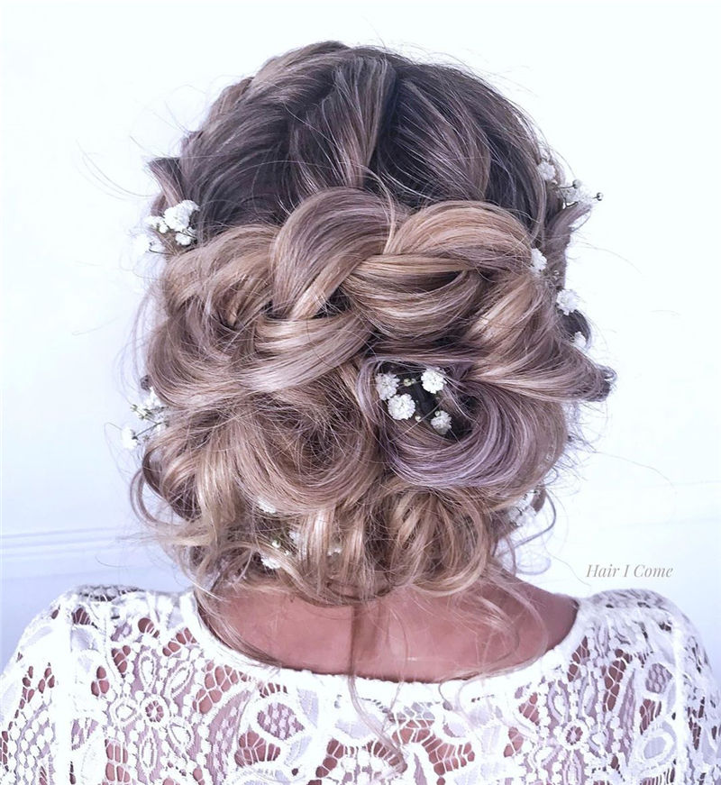 Popular Updo Braided Hairstyles to Look Stylish-16