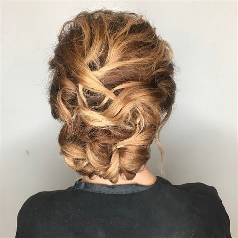 Popular Updo Braided Hairstyles to Look Stylish-18