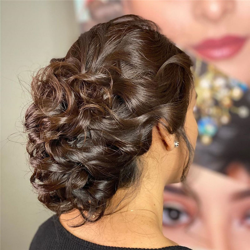 Popular Updo Braided Hairstyles to Look Stylish-22