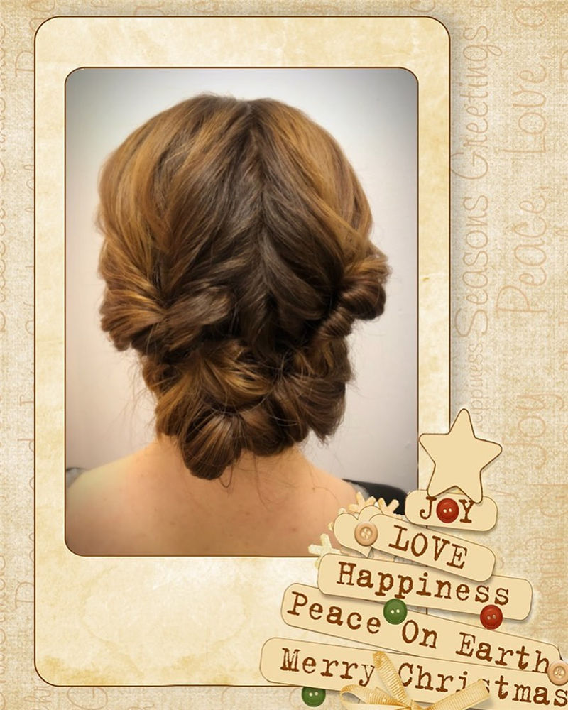 Popular Updo Braided Hairstyles to Look Stylish-28