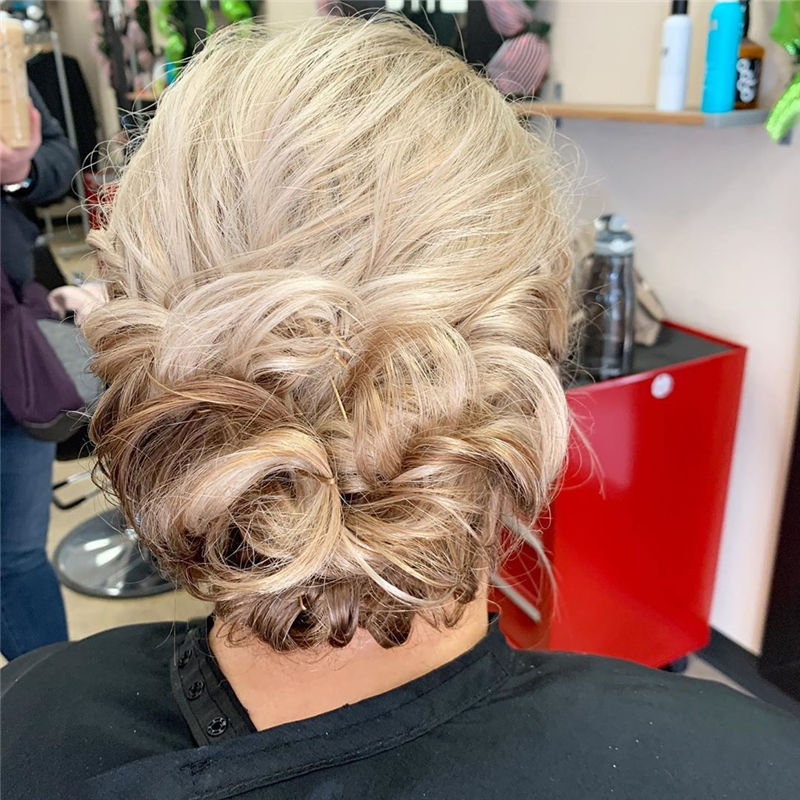 Popular Updo Braided Hairstyles to Look Stylish-29