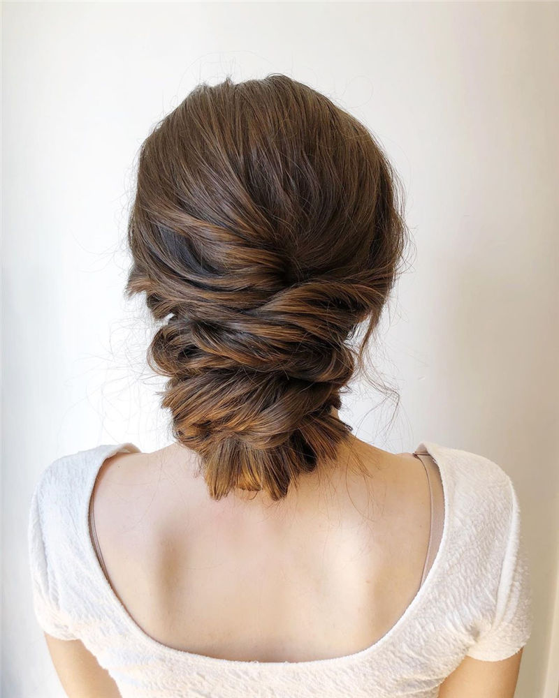 Popular Updo Braided Hairstyles to Look Stylish-36