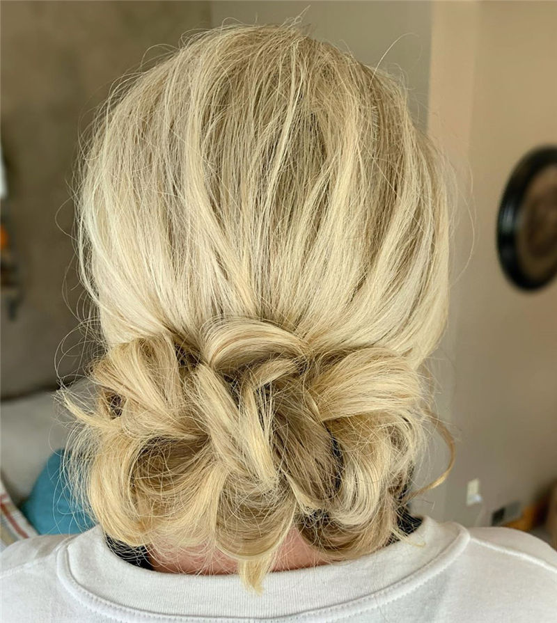 Popular Updo Braided Hairstyles to Look Stylish-40