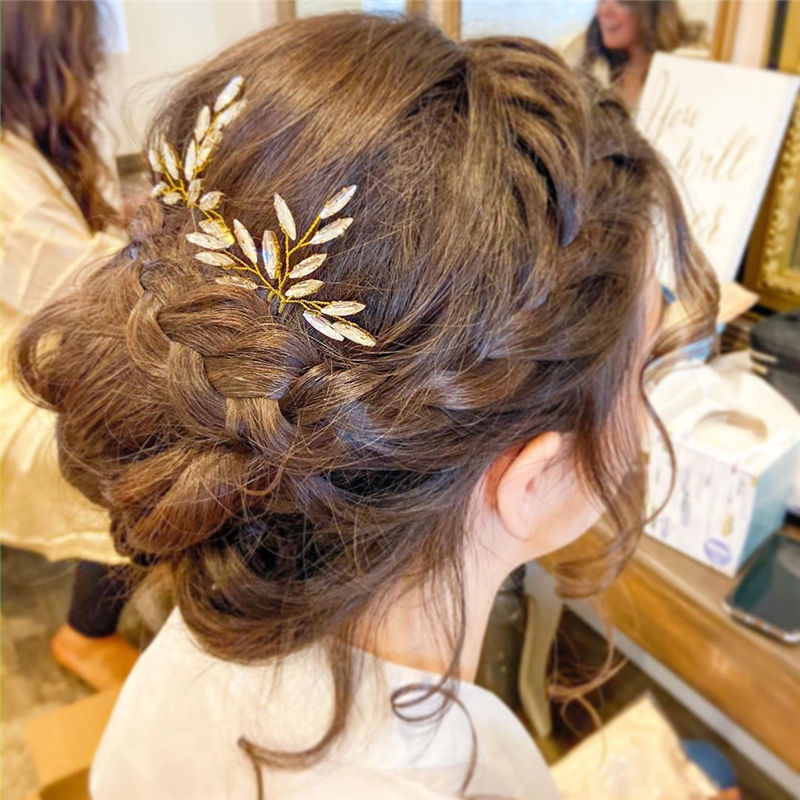 Popular Updo Braided Hairstyles to Look Stylish-46