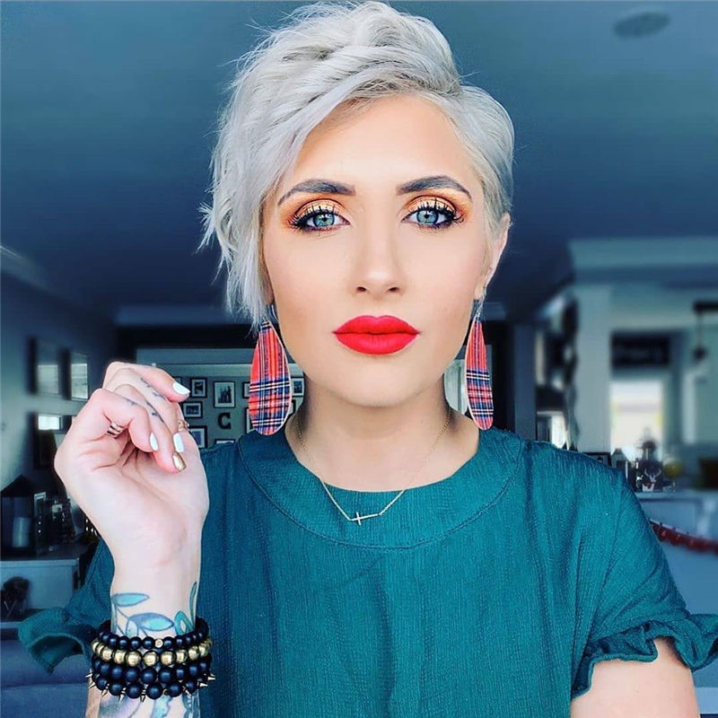 Really Popular Short Hairstyles for An Amazing Look 2020-10