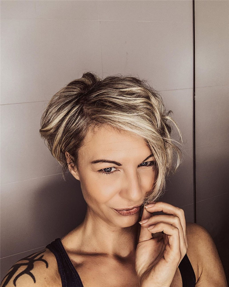Really Popular Short Hairstyles for An Amazing Look 2020-15
