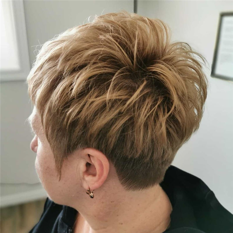 Really Popular Short Hairstyles for An Amazing Look 2020-18