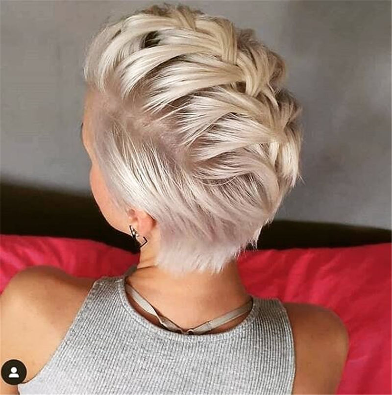 Really Popular Short Hairstyles for An Amazing Look 2020-23
