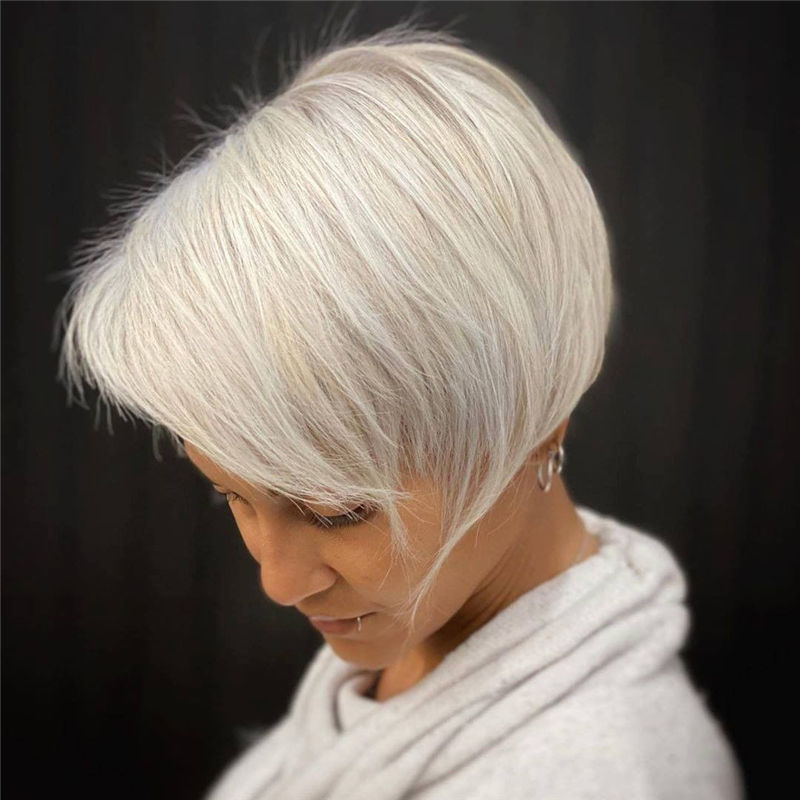 Really Popular Short Hairstyles for An Amazing Look 2020-29
