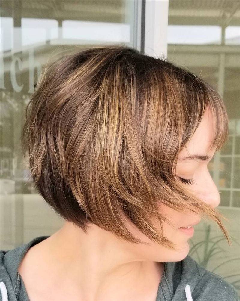 Trendy Bob Haircuts for Women Who Have A Good Taste-02