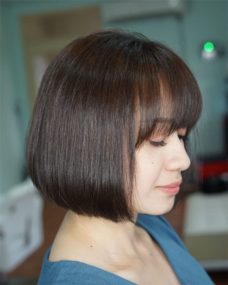 Trendy Bob Haircuts for Women Who Have A Good Taste-10