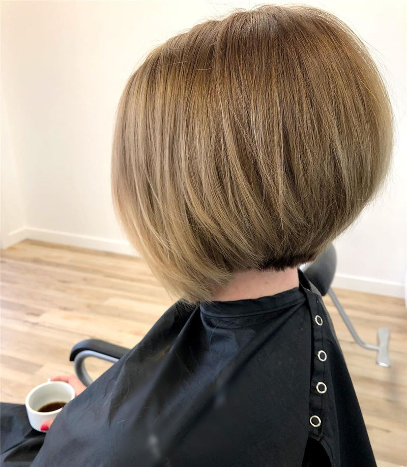 Trendy Bob Haircuts for Women Who Have A Good Taste-15