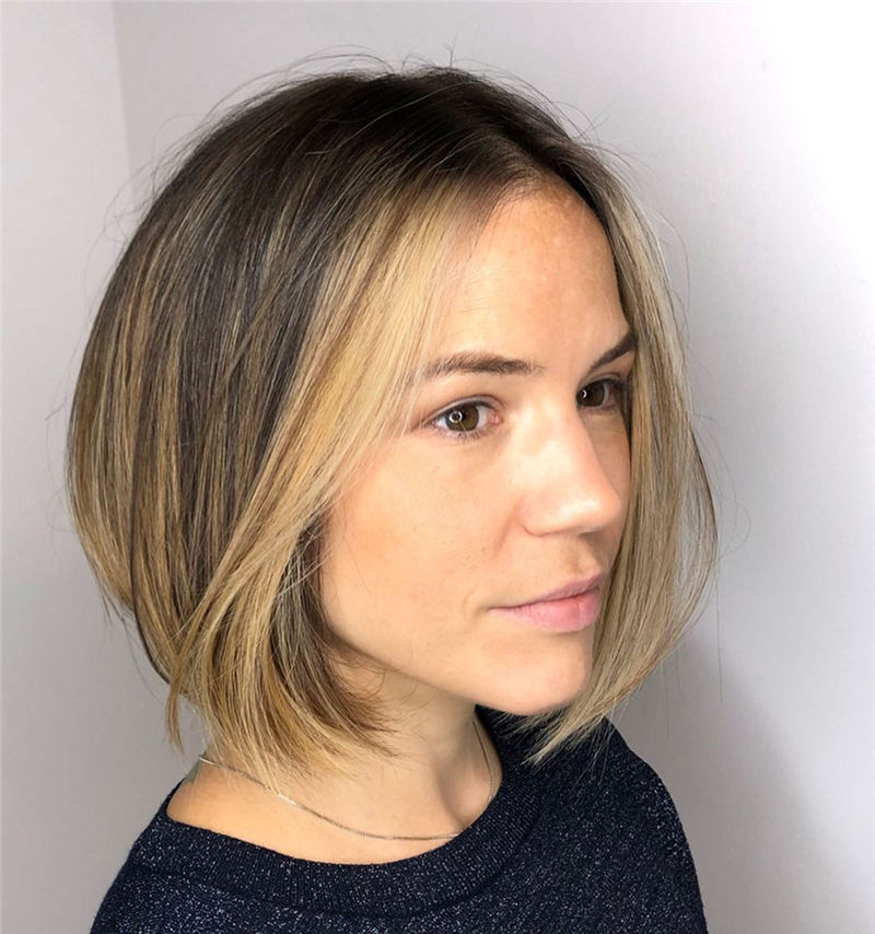 Trendy Bob Haircuts for Women Who Have A Good Taste-17