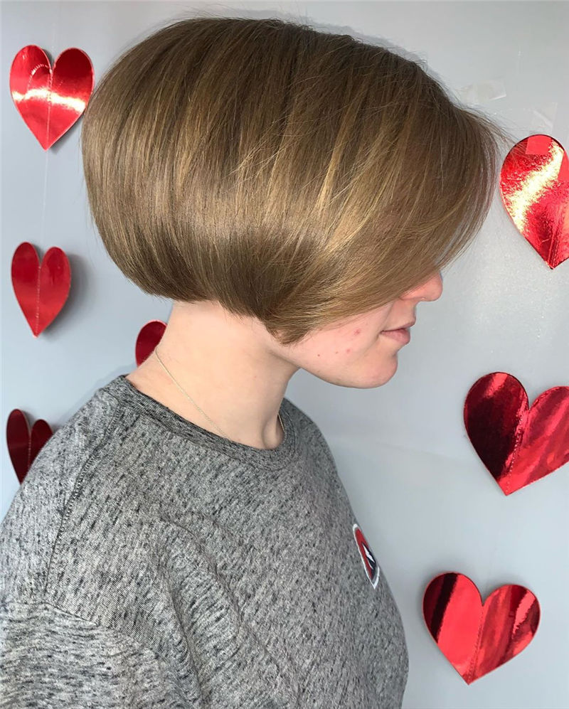 Trendy Bob Haircuts for Women Who Have A Good Taste-18